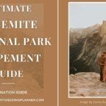 Ultimate Yosemite National Park Elopement Guide