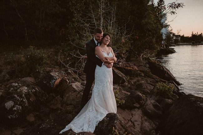493-Eliot-Lupita-Wedding_Lume-Photography-elopement-destination-michigan-harbor-elope-usa-beach-summer-outdoor-intimate-ceremony