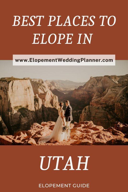 Best Places To Elope in Utah