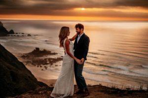 Beach Elopement Wedding in the Algarve, Portugal