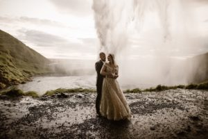 Iceland Waterfall Elopement Session