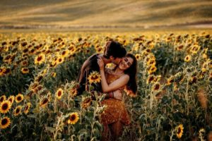 Sunset Couples Session in Tuscany, Italy
