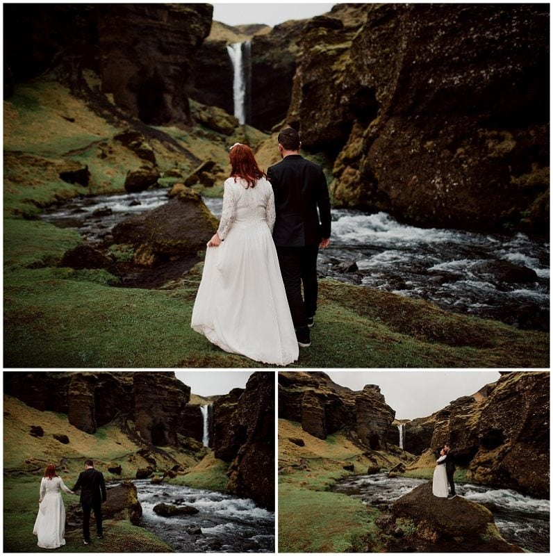 Top 10 Places To Elope in Europe iceland waterfall ice fire elopement destination wedding intimate small love
