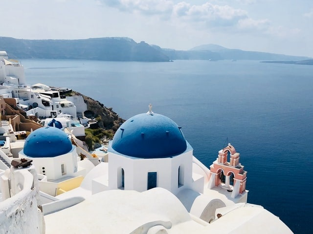 Top 10 Places To Elope in Europe santorini elopement destination wedding island greek greece sea small intimate