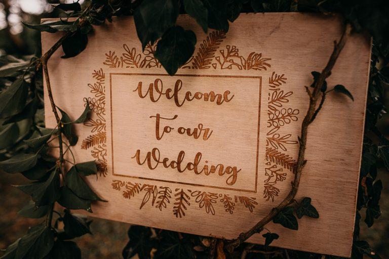 unfurl22-photography-woodland-elopement-wedding-inspiration-outdoor-enchanted-forest-intimate-ceremony-elope-boho-signage