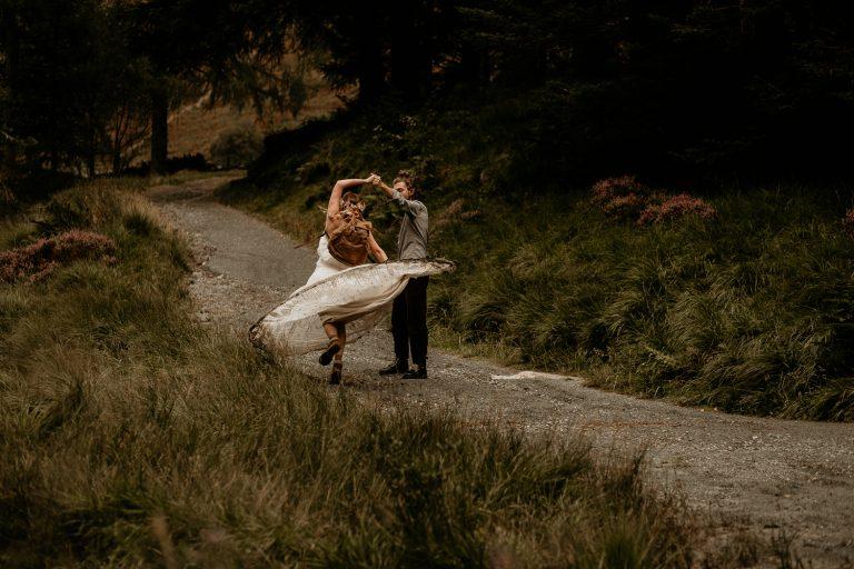 unfurl42-photography-lake-district-van-life-elopement-wedding-countryside-elope-boho-inspiration-hip-adventure-outdoor-england-spin-muddy-dress-bride