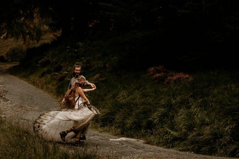 unfurl43-photography-lake-district-van-life-elopement-wedding-countryside-elope-boho-inspiration-hip-adventure-outdoor-england-twirl-muddy-dress-bride